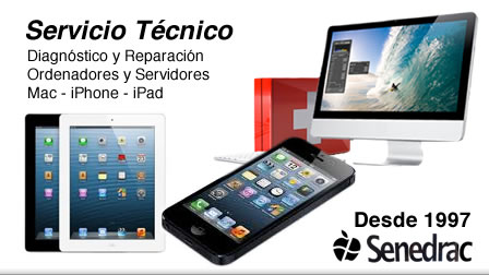 Servicio Técnico Mac, iPhone, iPad y PC